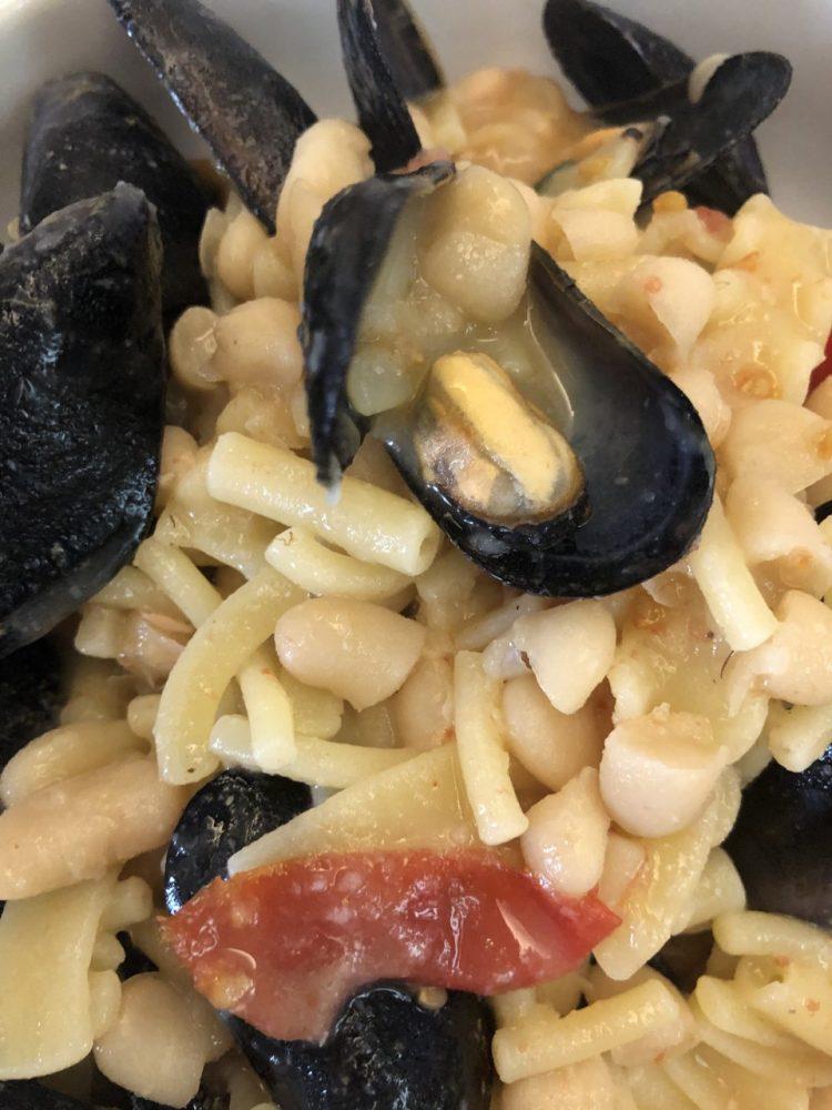 Casa Gallo -pasta fagioli e cozze