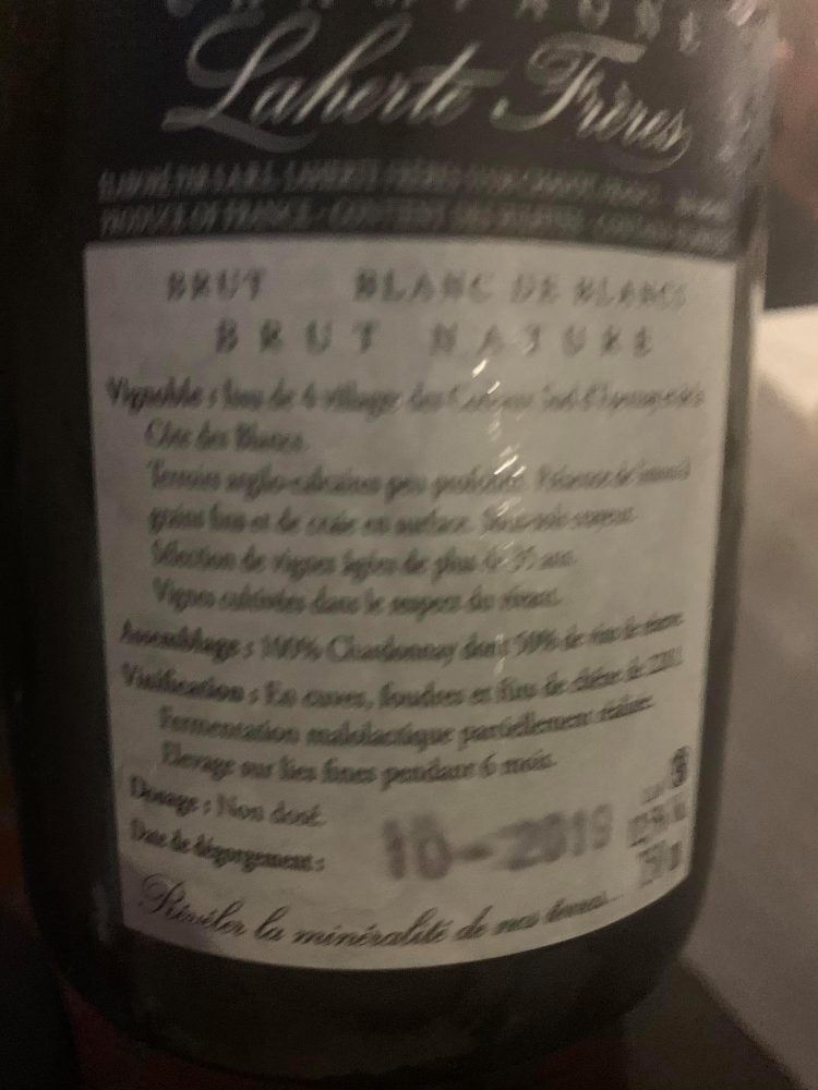 Champagne Laherte