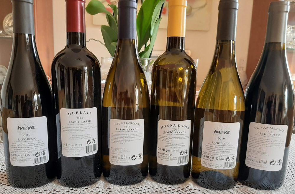 Controetichette vini Colle Piccchioni