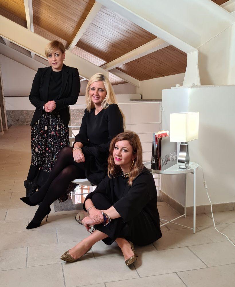 Dominga, Marta ed Enrica Cotarella