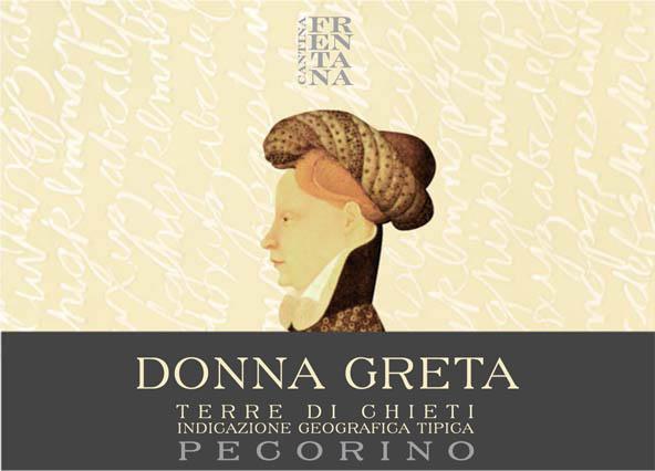 Donna Greta Terre di Chieti IGP Pecorino 2018 Cantina Frentana