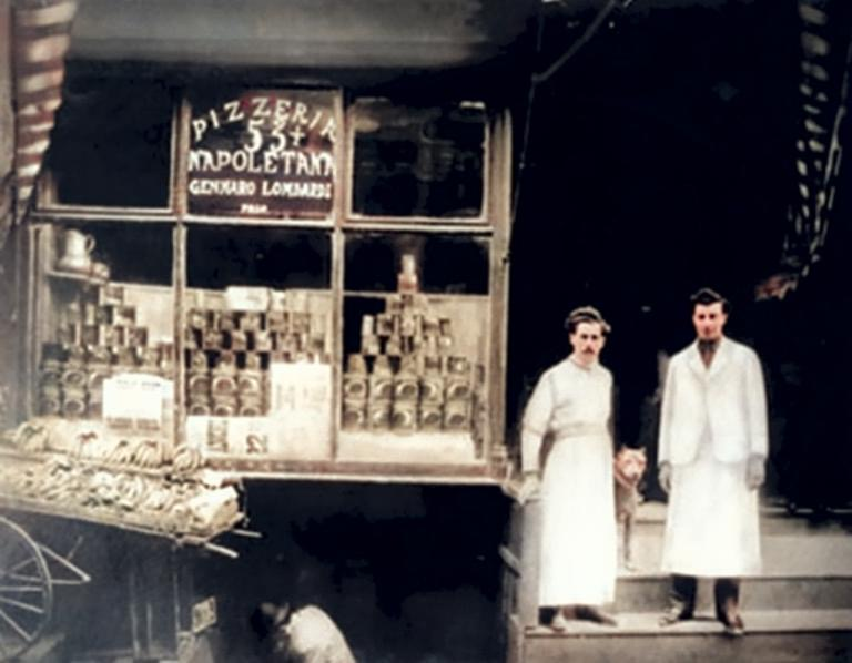 Gennaro Lombardi Storici Pizzaioli Emigrati