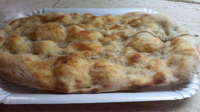 La pizza di San Martino preparata dal forno Antichi Sapori a Ceprano