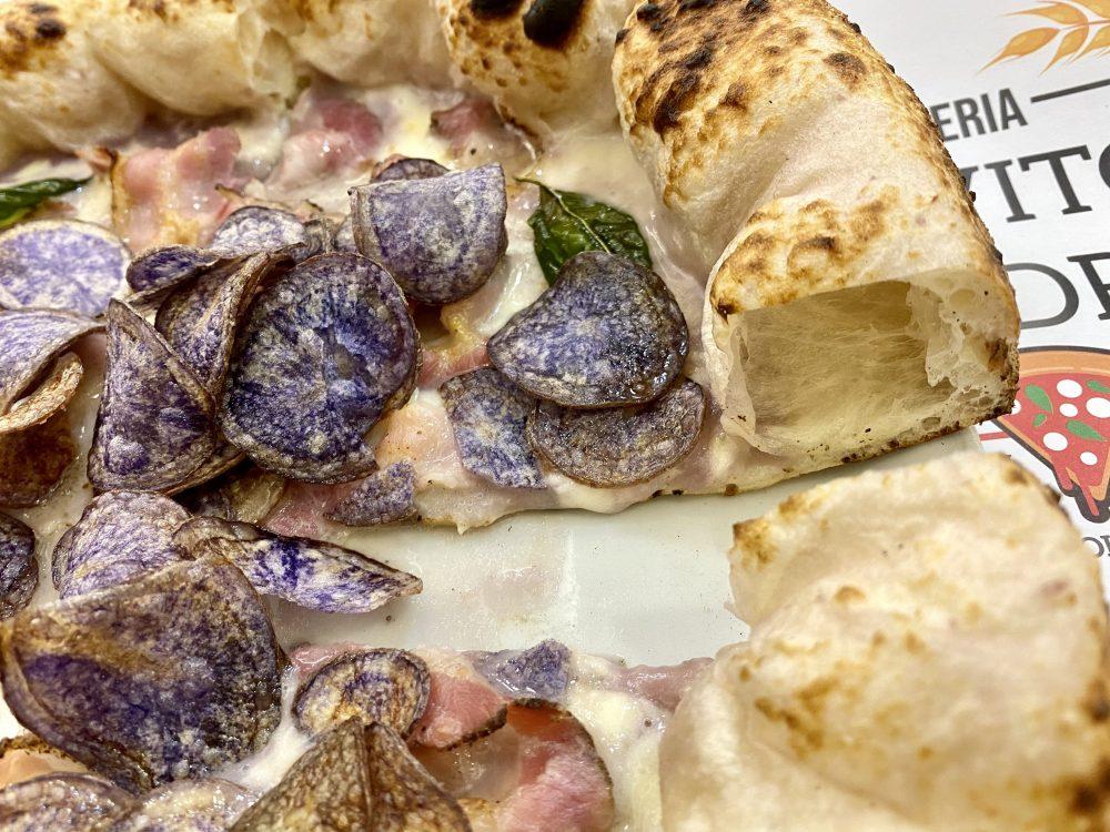 Lievito Madre - Vellutata viola e pancetta
