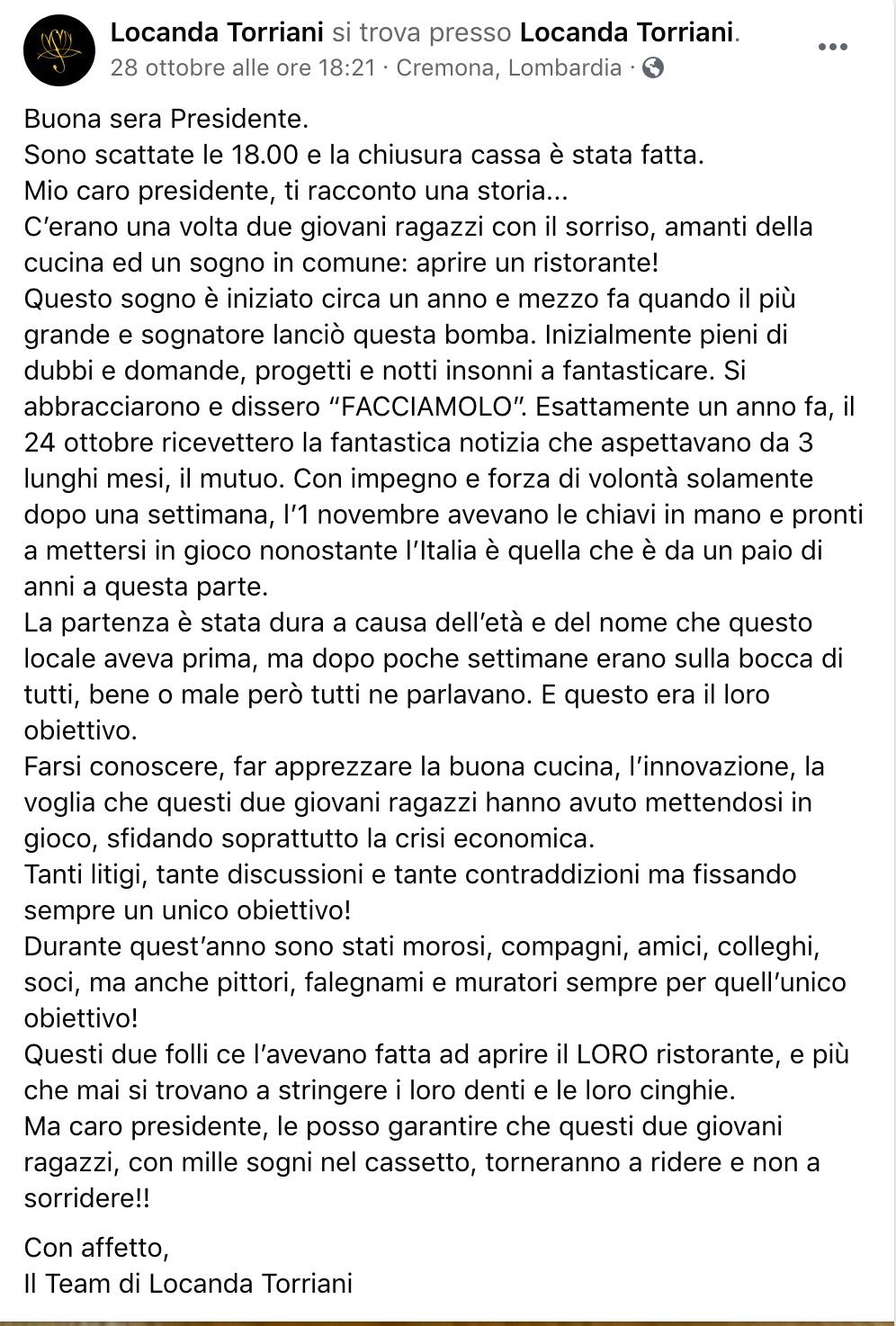 Locanda Torriani Cremona