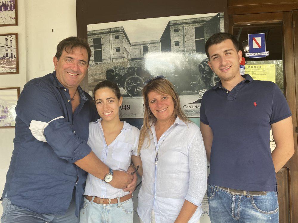 Maurizio Russo e famiglia