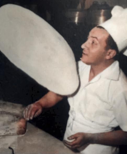 Pizzaiolo acrobata