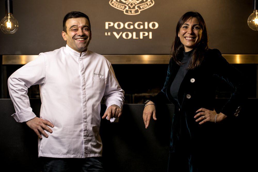 Poggio Le Volpi - Epos Bistrot_ Alfonso Crisci e Rossella Macchia