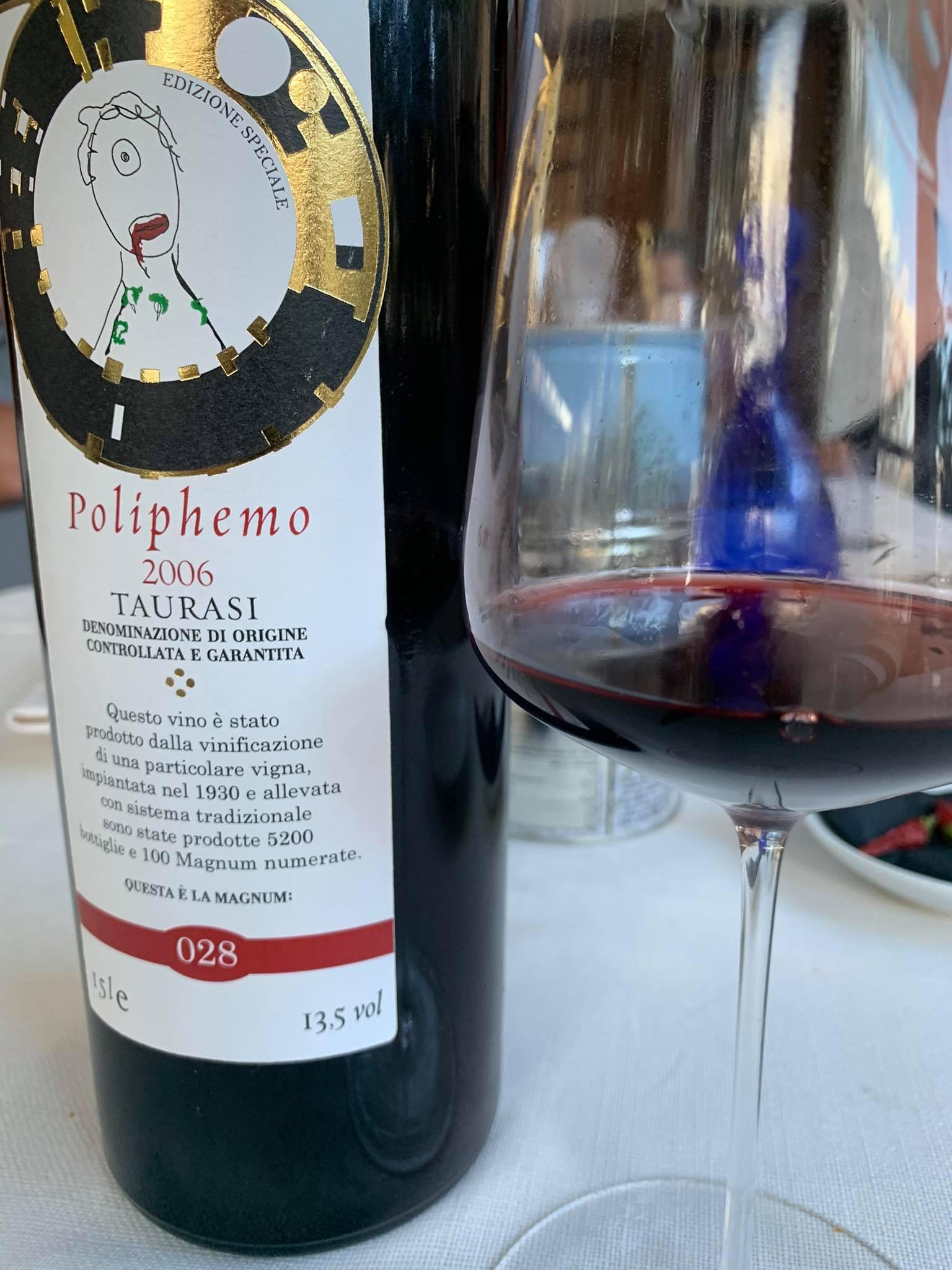 Poliphemo 2006 Luigi Tecce