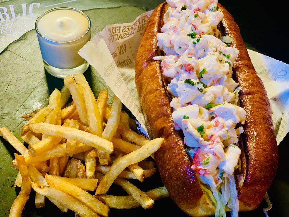 Public vintage diner - Lobster Roll