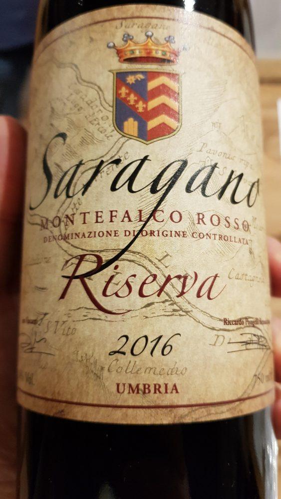 Tenuta di Saragano - Montefalco rosso riserva