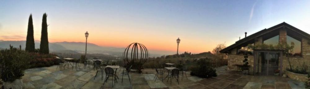 Terrazze di Montevecchia - Vista dal terrazzo