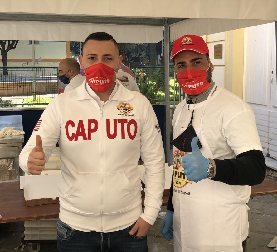 Vincenzo con Agostino Coppola