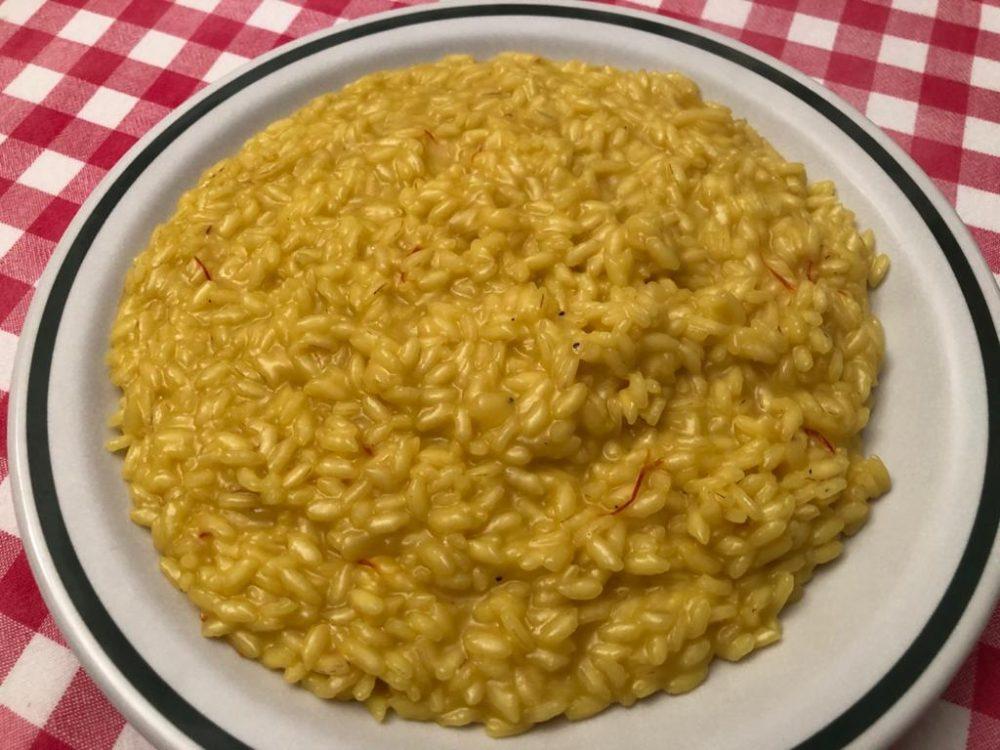 Il mio risotto alla milanese