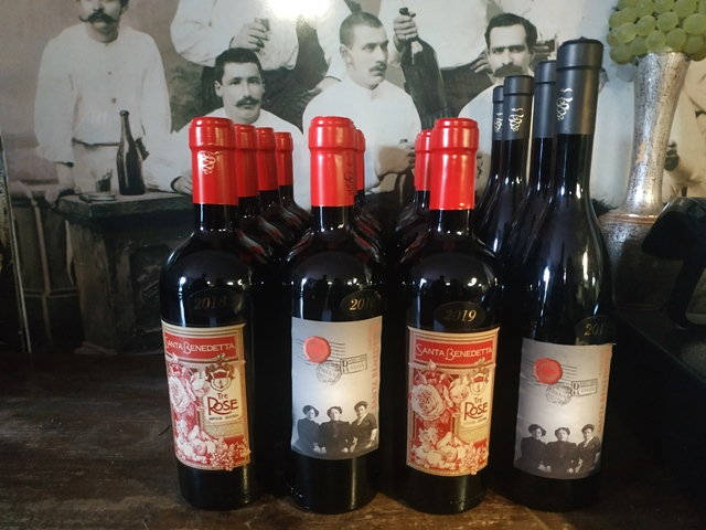 Cantine Santa Benedetta - i vini rossi
