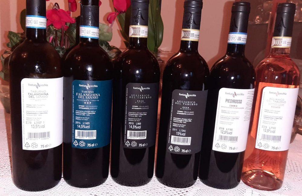 Controetichette vini Fontanavecchia