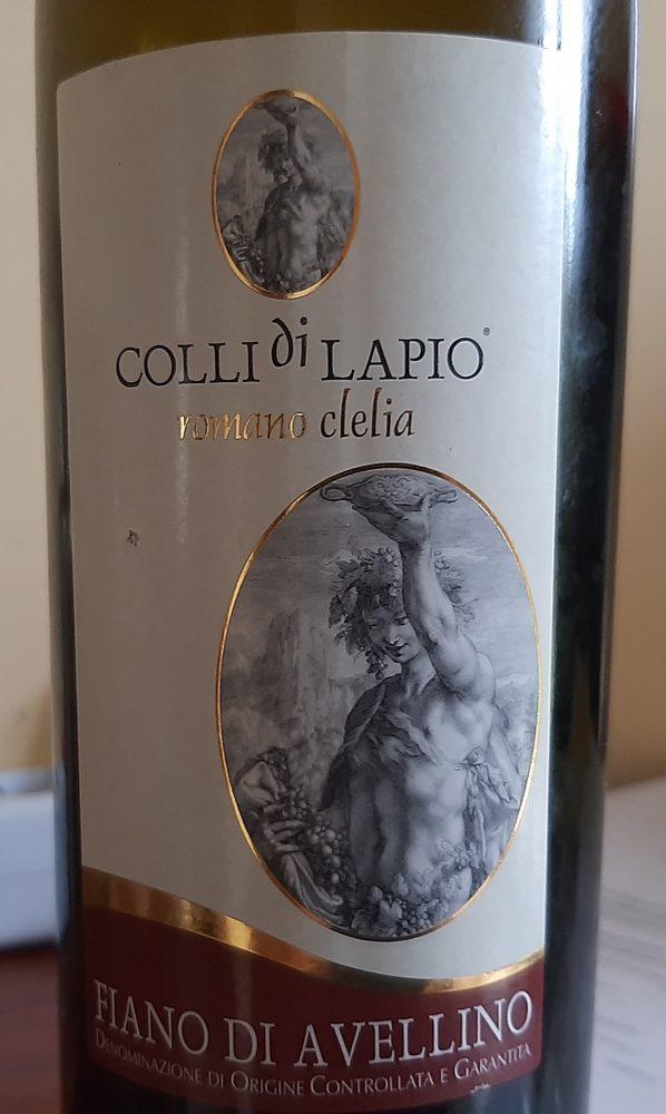 Fiano di Avellino Docg 2015 Colli di Lapio Romano Clelia