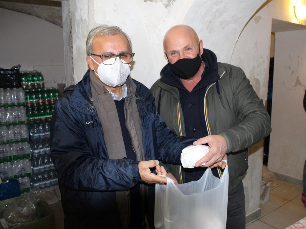 Gaetano Sorrentino e Luigi Musella
