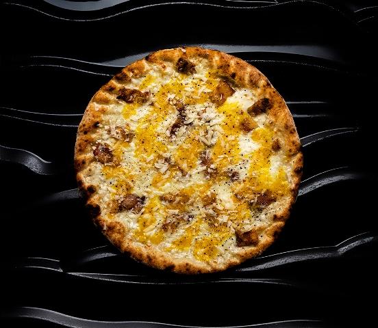 La Carbonara al Contrario della Pizzeria Magnifica (photo credis Andrea Di Lorenzo)