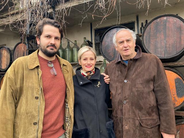 La famiglia Benedetti - Antonio, Fabia e Alberto