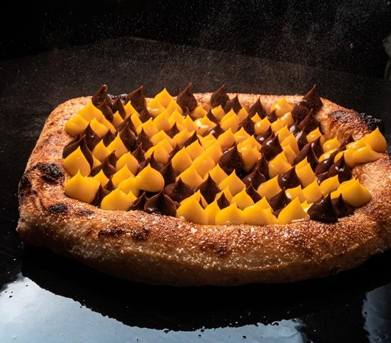 La zuppa inglese in pizza di Gianni Di Lella