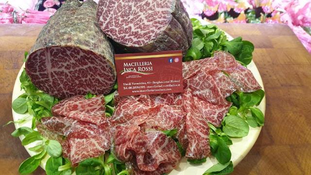 Macelleria Rossi - la bresaola di carne di Wagyu