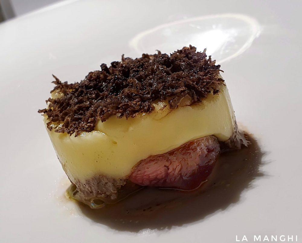Uliassi - fondente di patate e anatroccolo