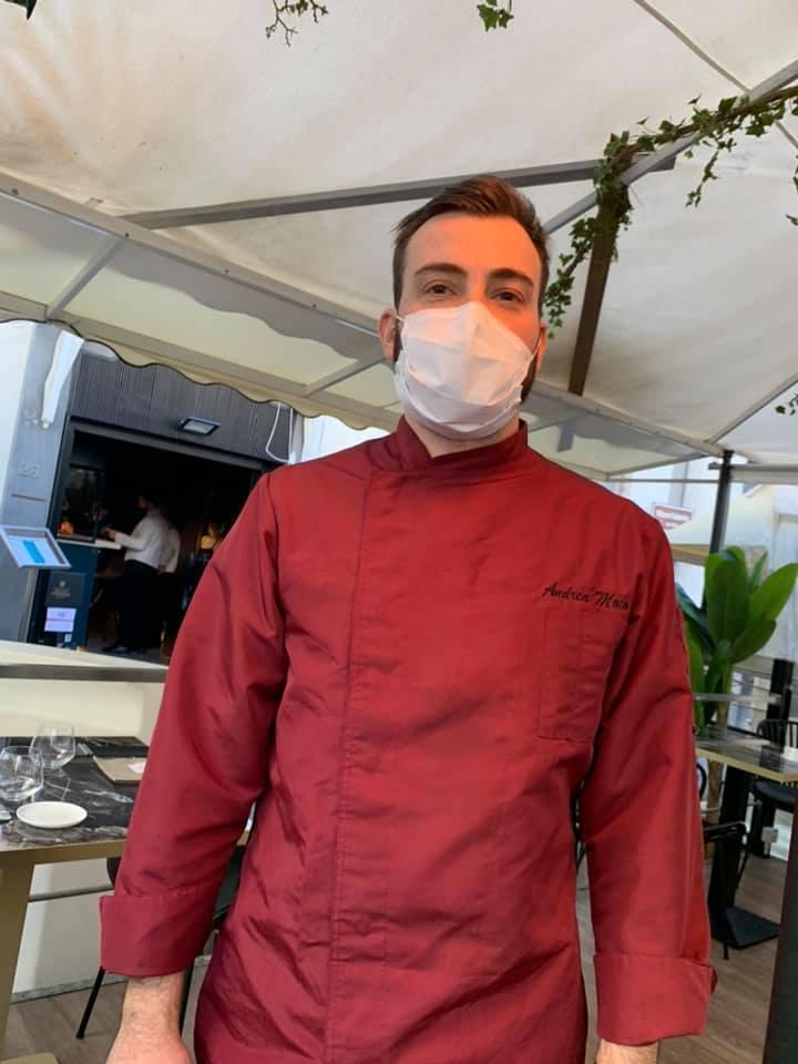 Lo chef Andrea Moio