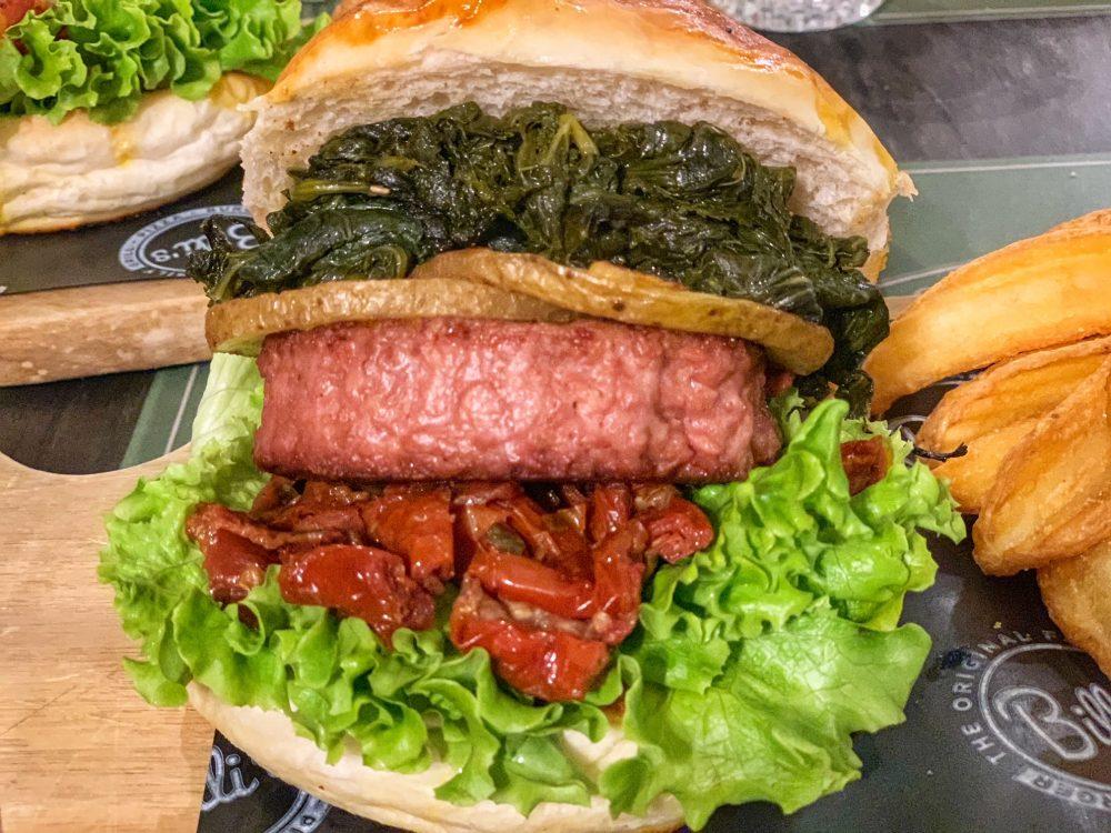 Beyonde il panino vegano del Billi's
