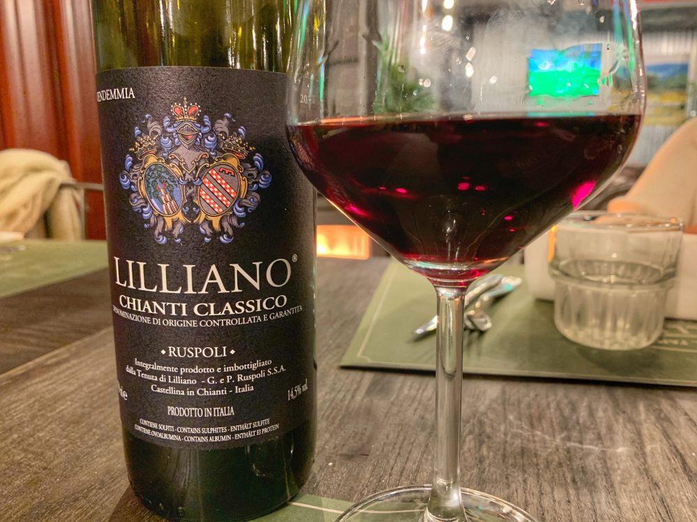 La carta dei vini del Billi's