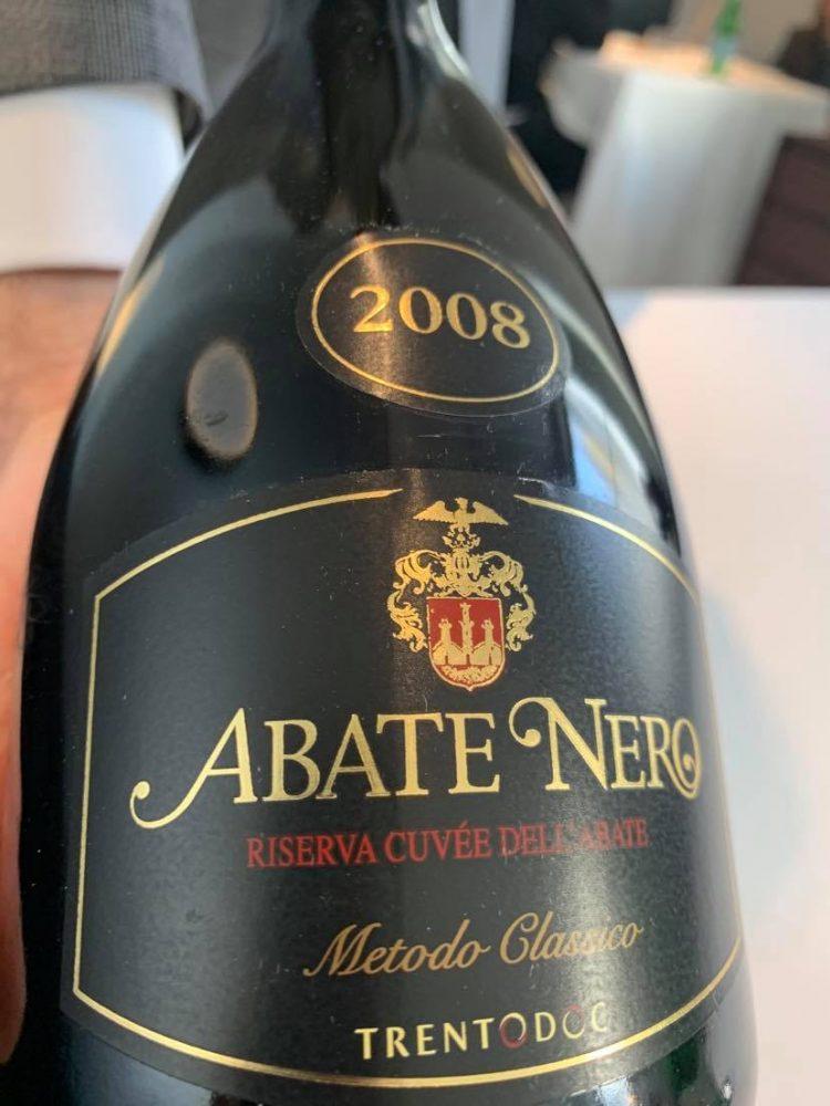 Abate Nero 2008 riserva Trento doc