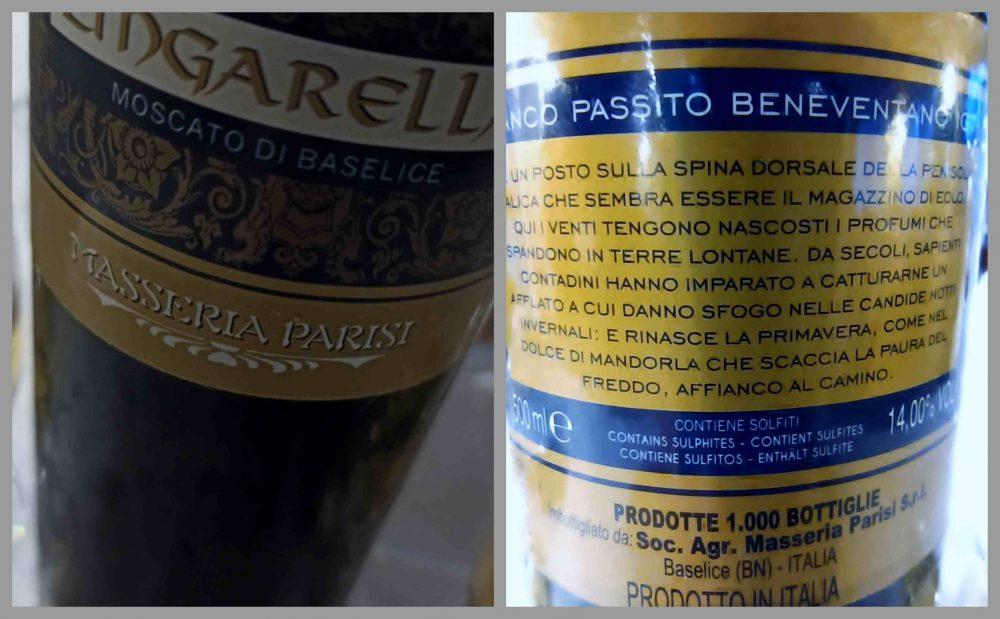 Agriturismo Tenuta Caretti - Passito