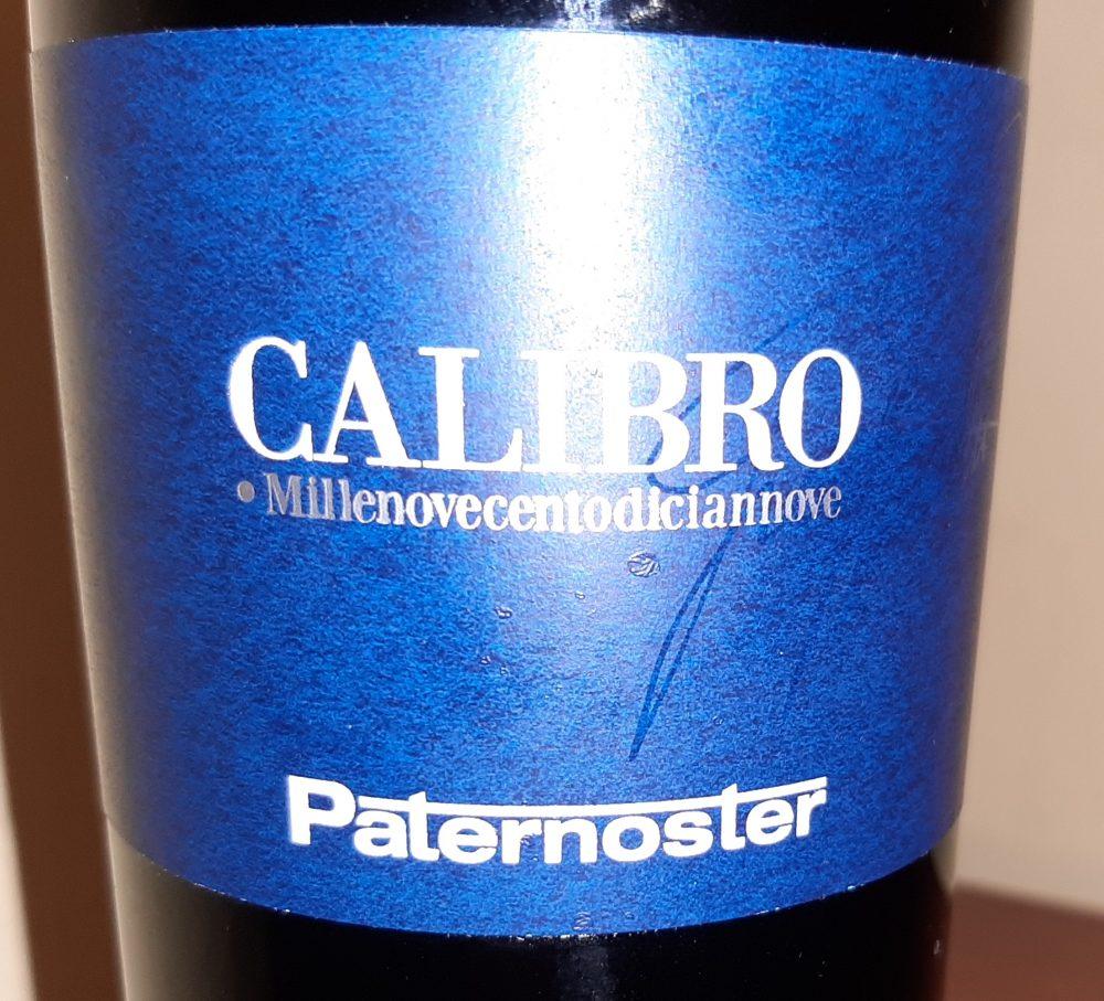 Calibro Aglianico del Vulture Doc 2011 Paternoster