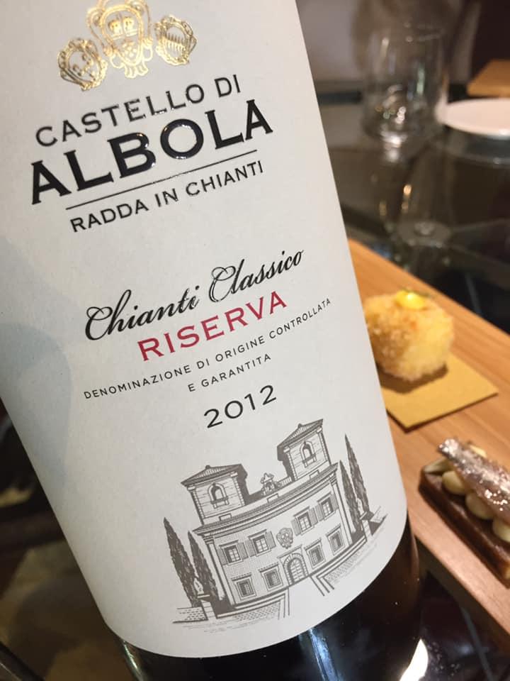 Chianti Classico riserva 2012 Castello di Albola