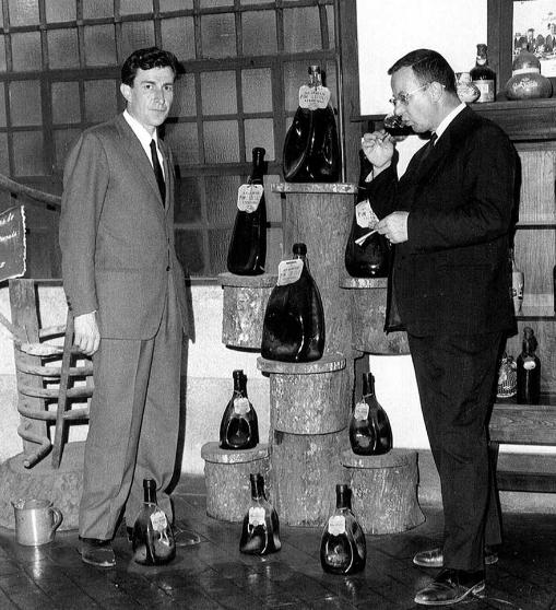 Emanuele Pellegrini e Luigi Veronelli - 1970