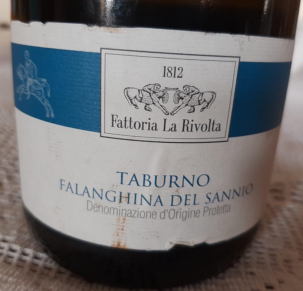 Falanghina del Sannio Dop 2015 Fattoria La Rivolta