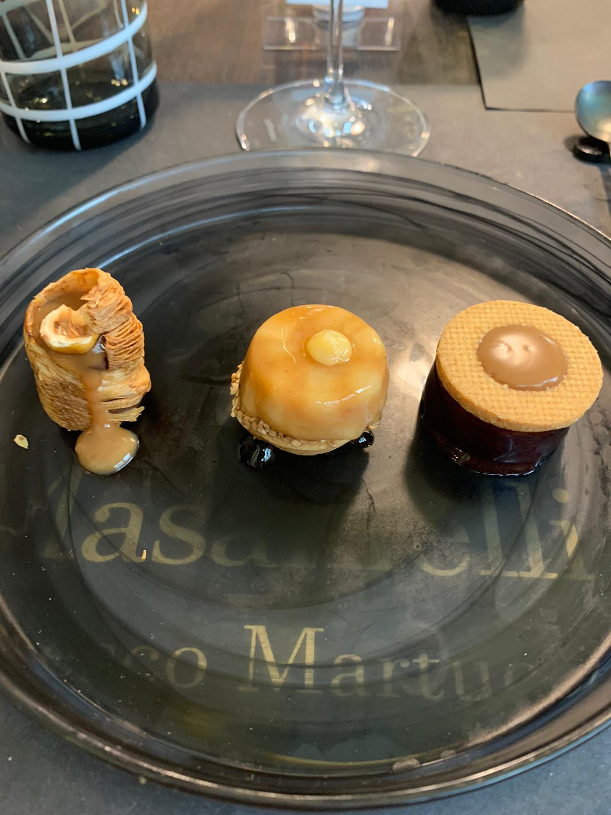 I Masanielli Francesco Martucci - dessert di Lilia Colonna