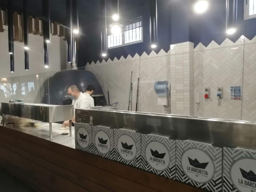 La Barchetta - Il forno