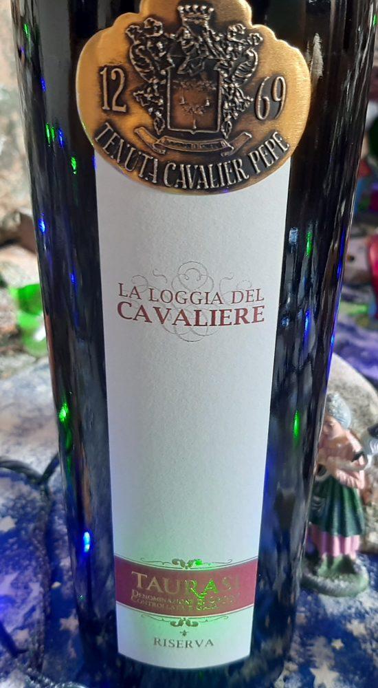 La Loggia del Cavaliere Taurasi Riserva Docg 2012 Cavalier Pepe