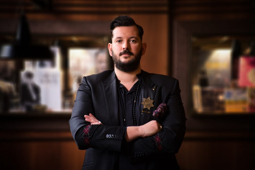 Luca Manni bar manager Move On di Firenze