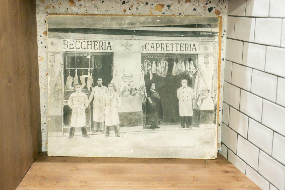 Macelleria Mezzena' - nonno Raffaele