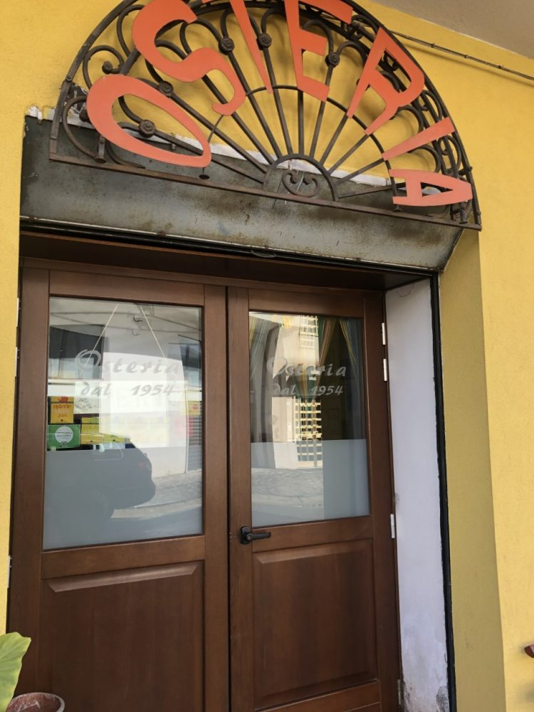 Osteria da Addolorata - ingresso