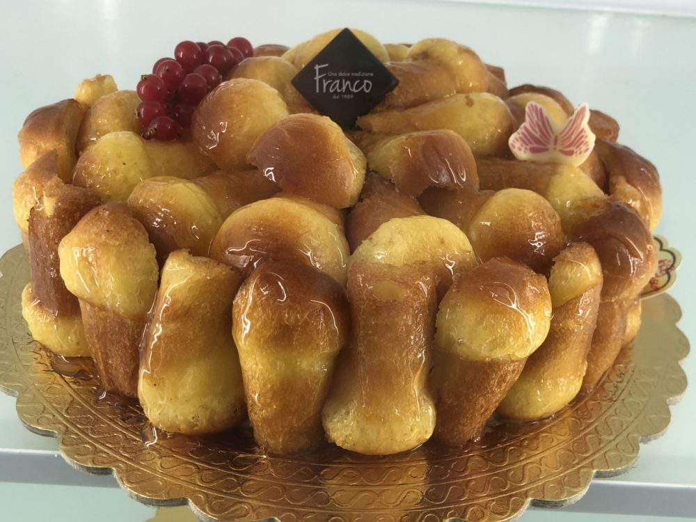 Pasticceria Franco - torta baba'