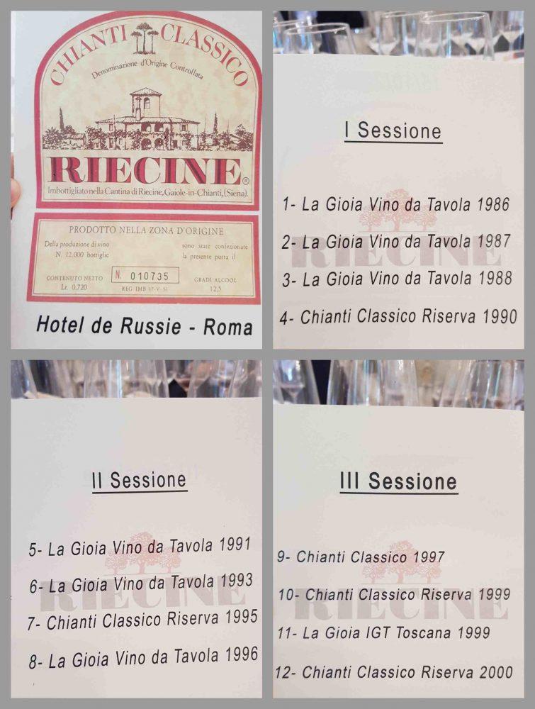 Riecine - sessioni