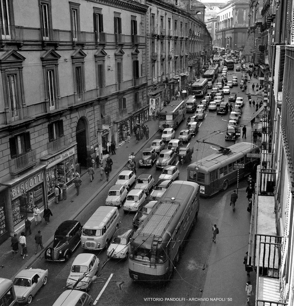 Via Pessina - Na - anni 50