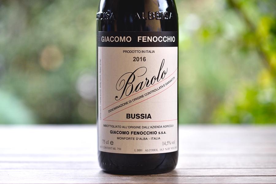 Barolo Bussia 2016 Giacomo Fenocchio