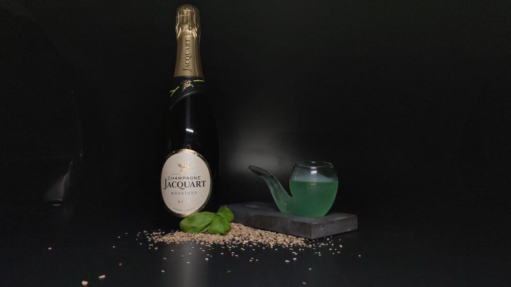 Drink POPEYE ZENEIZE di Roberto Maone bar manager del Punta Tre Pini di Genova