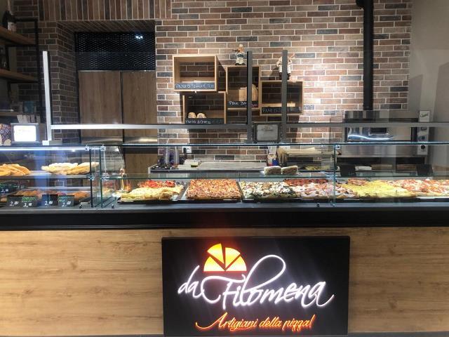 La nuova sede della Pizzeria Da Filomena