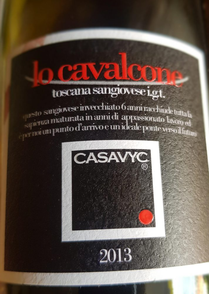 Casavyc – Sangiovese di Toscana IGT - Lo Cavalcone 2013