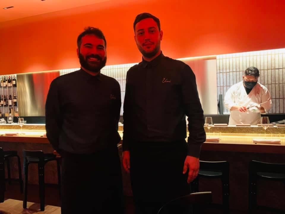 Ristorante Umi - I titolari Gerardo Ferrari e Fiorenzo Benvenuto